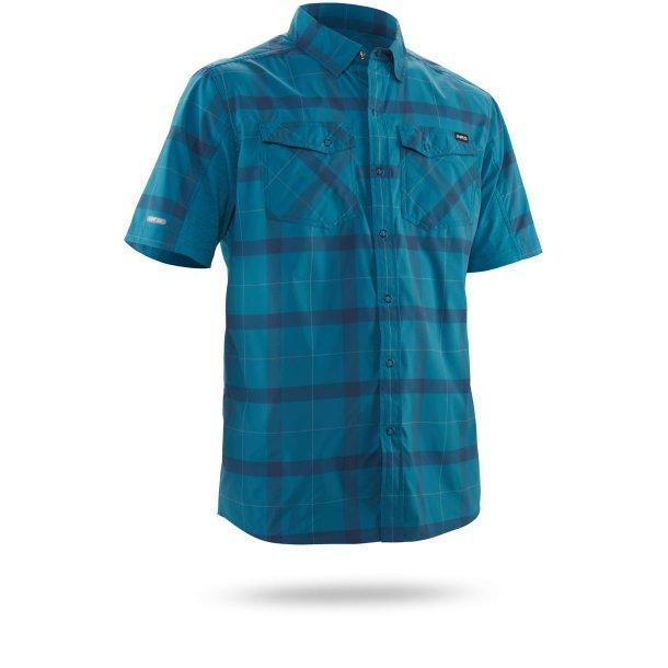 NRS Men Guide Short-Sleeve Shirt, Fjord