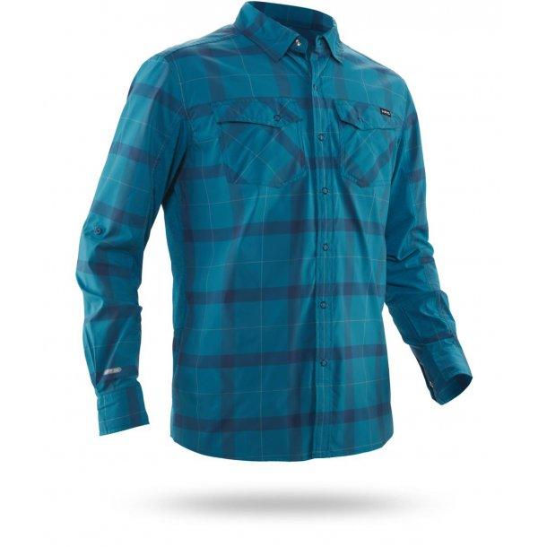 NRS Men Guide Long-Sleeve Shirt, Fjord
