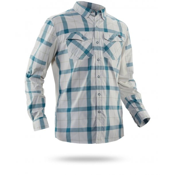 NRS Men Guide Long-Sleeve Shirt, Hydro