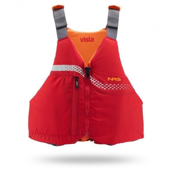 NRS Vista Youth PFD børnevest rød/orange