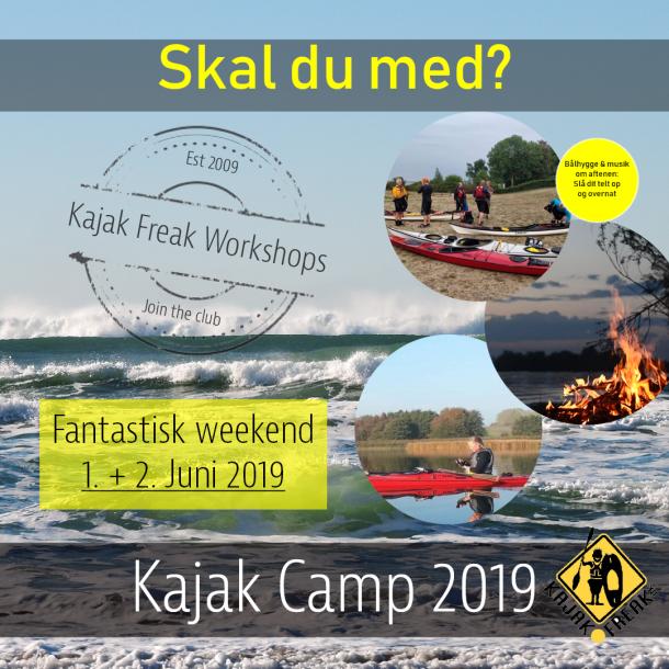 Kajak Camp - Et once in a life time arrangement