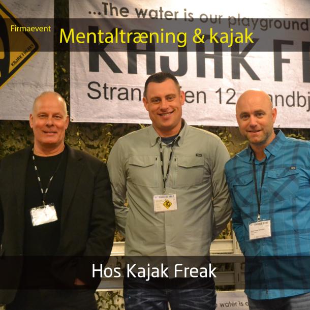 Mentaltræning & Kajak - For virksomheder