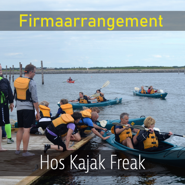 Firmaarrangement hos Kajak Freak