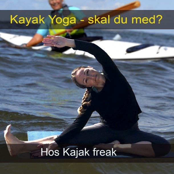 Kajak Yoga Hold hos Kajak Freak.