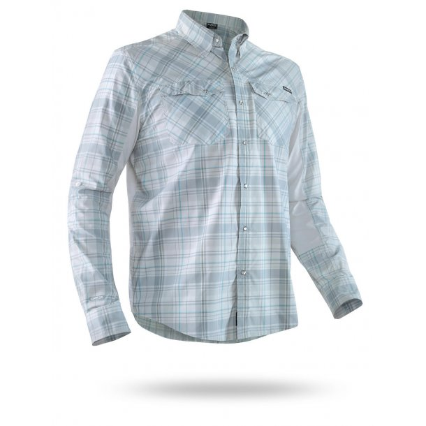 NRS Men Guide Long-Sleeve Shirt light blue