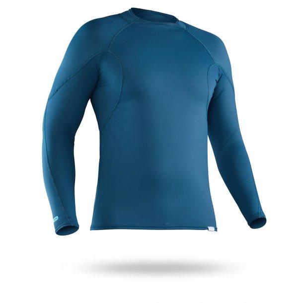 NRS Men's H2Core Rashguard Long Sleeve T-shirt Blå