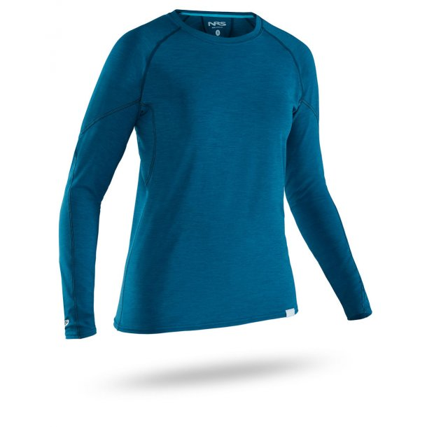 NRS Women's H2Core Rashguard Long Sleeve T-shirt Blå