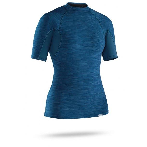NRS Women's HydroSkin 0,5 Short Sleeve Blå