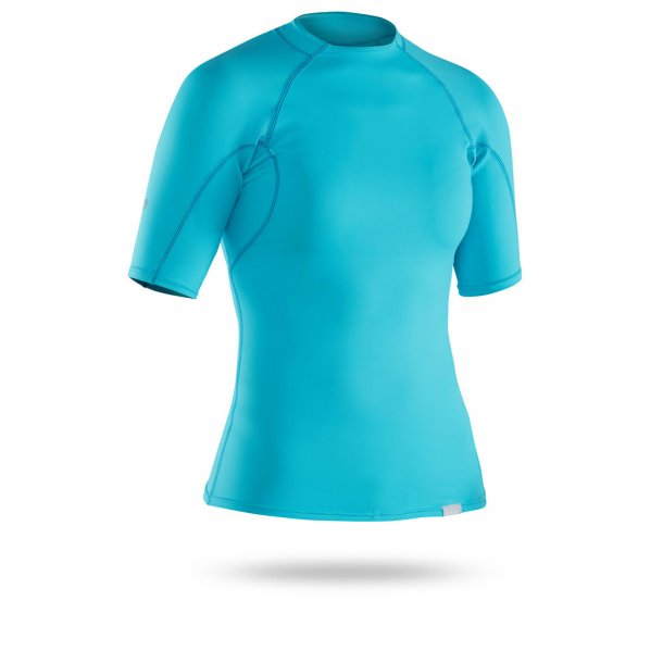 NRS Women's H2Core Rashguard Short Sleeve T-shirt Blå