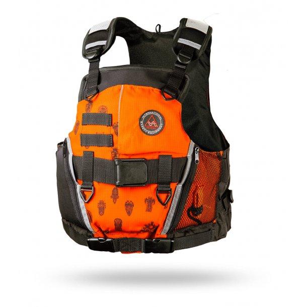 AQUARIUS Guide vest orange