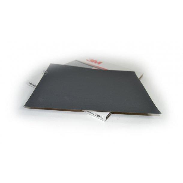 3M Vandslibnings ark / sandpapier