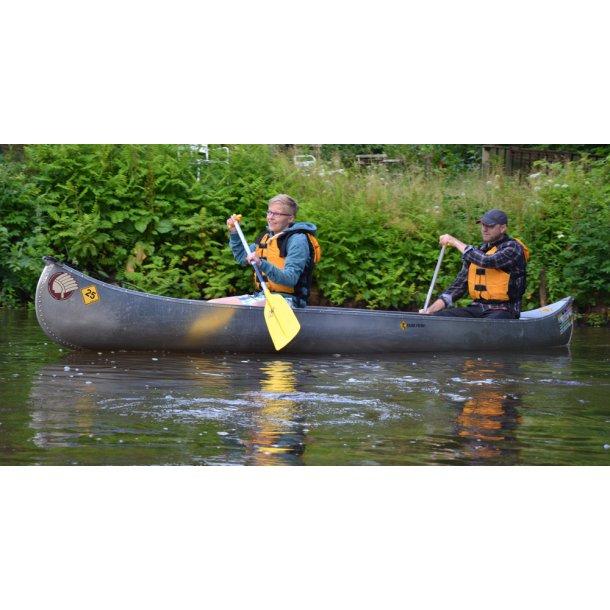 Leje af kano på Storå
