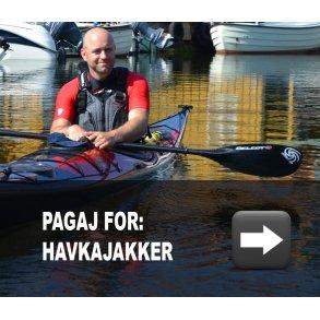 Havkajak-pagajer