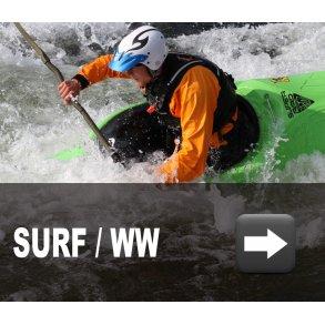 Surf og WW kajakker