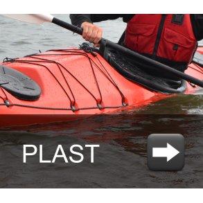 Plast havkajakker